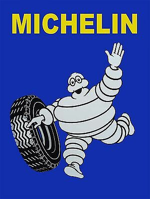 Michelin Man Tires Ad High Quality Metal Magnet 3 x 4 inches Fridge 9331