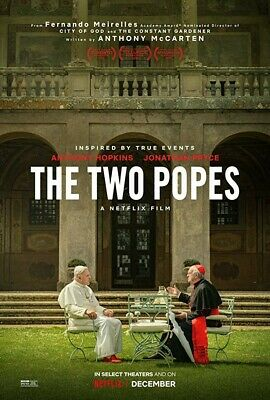 The Two Popes Dvd (2019) Brand New ********Free Shipping*******