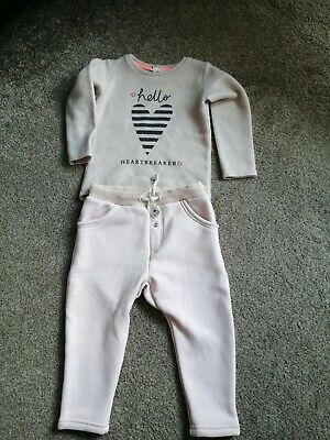 River Island Girl Tracksuit 2 3 Years Top Trousers