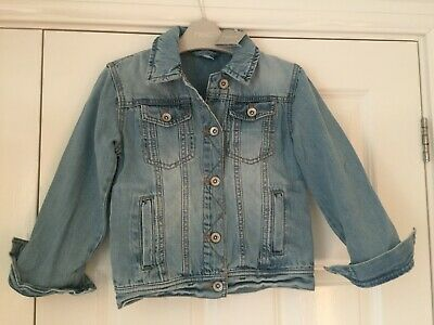 BNWT Girls Next Size 6-7 Years Blue Denim Jacket