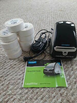 Dymo Labelwriter 450 Turbo w/ Power Supply and Labels