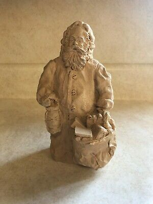 Molded Santa Statue--7 inches approximately