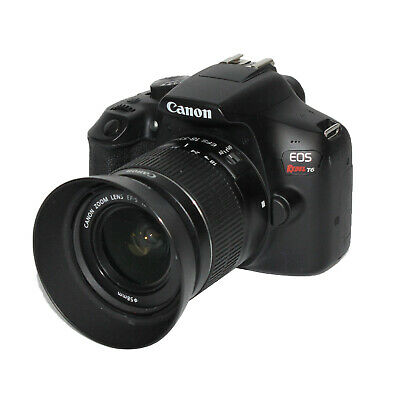 (N07943) Canon EOS Rebel T6 DSLR Camera with 18-55mm Lens