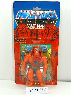 MOTU, Beast Man, Masters of the Universe, MOC, carded, figure, sealed, He Man