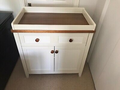 Silver Cross Porterhouse Baby Changing Unit with Drawer and Cupboard