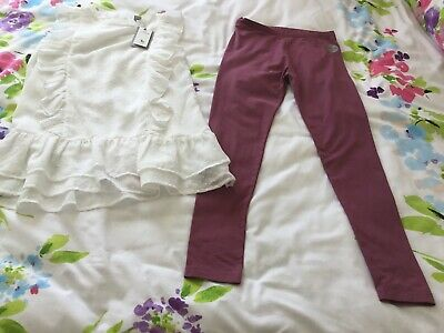 Tu Kids 2 Piece Set Leggings And Top Age 12 Yrs Height 152cm Unwanted Gift BNWT