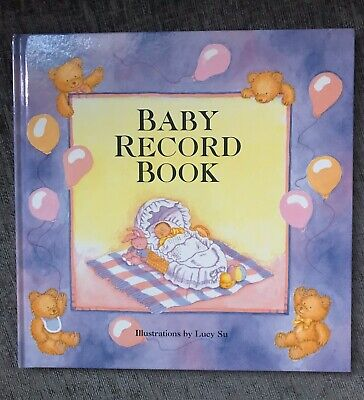 Baby Record Book New