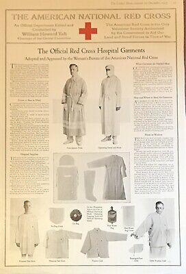 1917 World War I American Red Cross Hospital Garments, Women in National Defense