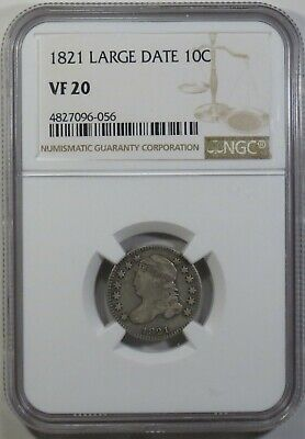 1821 Capped Bust Dime - NGC VF20  NGC Attribution Error