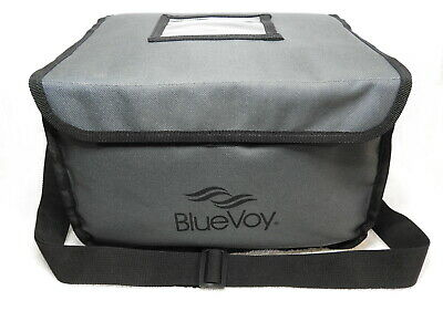 Reusable Food And Drink Carrier Delivery Bag With 2 Removable Dividers & Strap