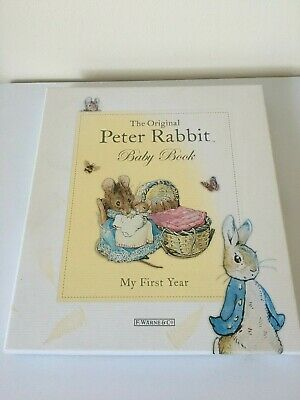 peter rabbit memory baby book 1st year brand new unwanted gift