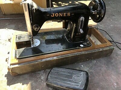 Vintage Antique Rare Collectable - Jones Sewing Machine Model B - Foot Pedal