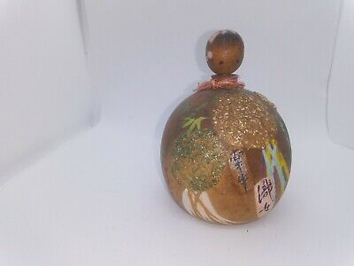 KOKESHI Japanese Doll vintage antique Japan  wooden used 4 inch
