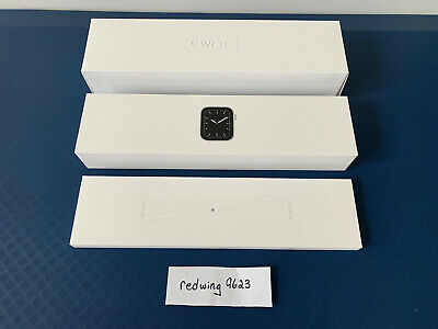 Apple Watch Series 5 MWWQ2LL/A GPS & LTE Cellular 40mm Smartwatch Cracked Screen