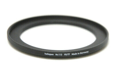 Heliopan 77- 95mm Step-Up Ring (#113) Used Excellent