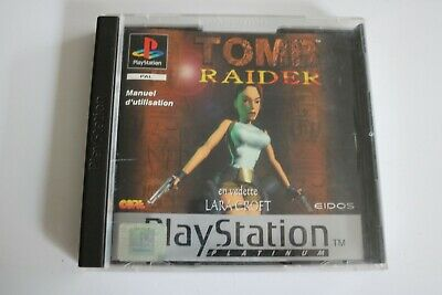 JEU VIDEO pour SONY PLAYSTATION 1 lara croft TOMB RAIDER 1 PS1 EIDOS