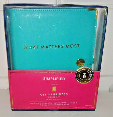 Emily Ley Simplified Weekly-Monthly Organizer Planner Box Set 2020 New