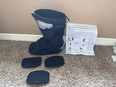 Ankle Walker Ovation Gen2 Medical Boot Walking Foot Brace With Air Adult Small