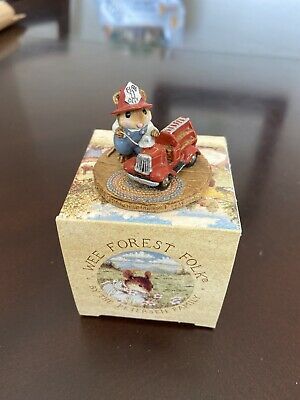 Wee Forest Folk Little Fire Chief M-077 Firetruck.