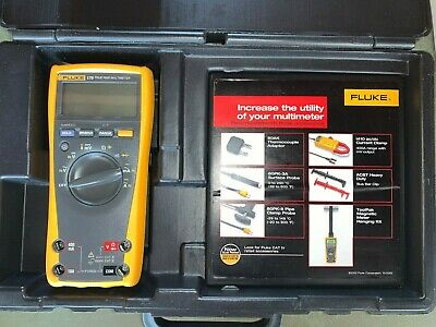 NEW Fluke 179 True-rms Digital Multimeter DMM +Thermometer Made in USA