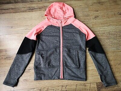 Girls Zip Up Sports Jacket Top Age 7-8yrs