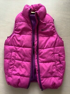Girls pink Mountain warehouse gilet/bodywarmer age 3-4 years