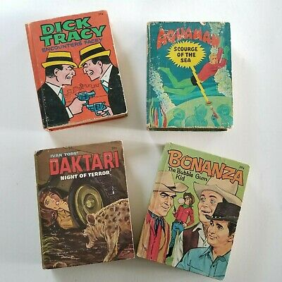 VINTAGE Set of 4 Big Little Books, 1960s, Collectible Children's Books