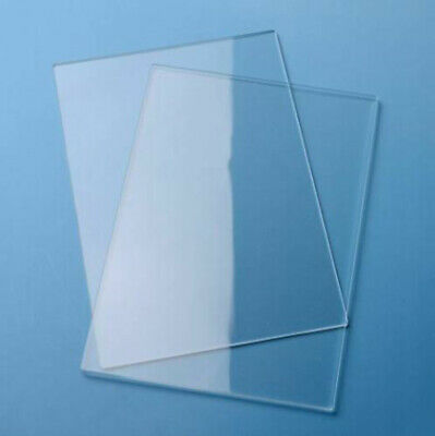 Thick 1~10mm Clear Perspex Acrylic Sheet Plate PMMA Panel 150 x 150 to 500mm