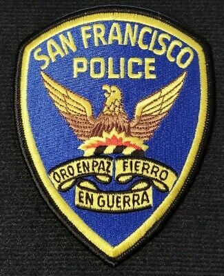 San Francisco CA Police Patch Sheriff