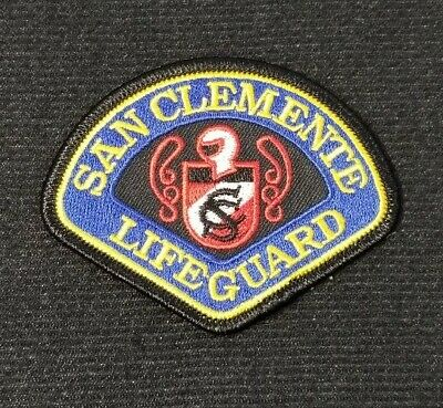 San Clemente Lifeguard California CA Police Patch Sheriff SMALL