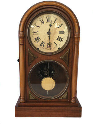 Antique 8 Day American Strike Shelf Clock By Seth Thomas - Chicago Model C1870