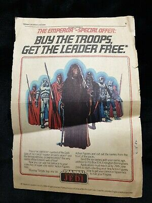 Vintage Star Wars Magazine Advertising