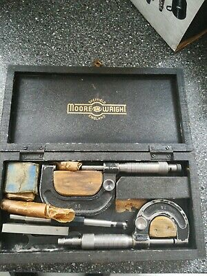 Sheffield Moore & Wright Micrometers