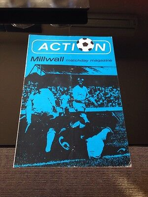 Millwall V Middlesbrough 1972 Soccer/football Programme Fa Cup