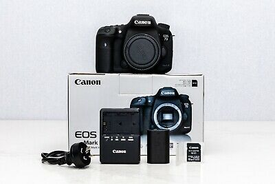 Canon EOS 7D Mark II Digital Camera - Black