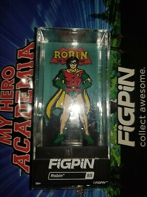 Figpin #85 DC Classic Robin 1st Edition Soft Case Sequence Version 792 Volume
