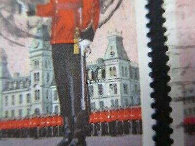 CANADA STAMPS USED #693v 1976 --ROYAL MILITARY COLLEGE PIGEON HOLE VARIETY--