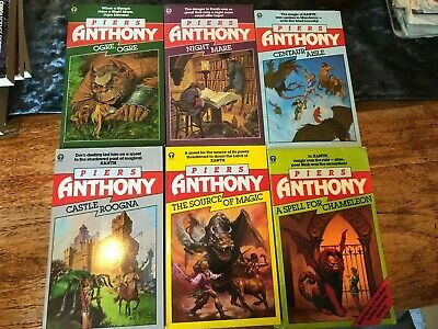 Piers Anthony The Xanth series - books 1-6