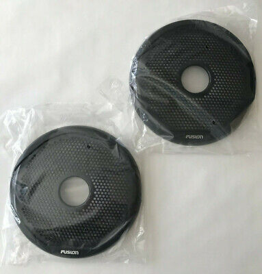 """Fusion Marine Replacement Speaker Cover Grill Grille 7"""" 7.7"""" Black"""