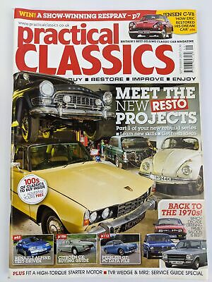 Practical Classics Magazine - Sept 2007 - Meet The New Resto Projects
