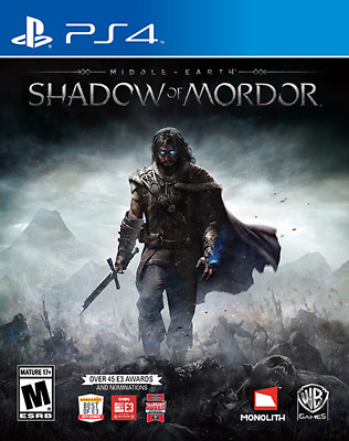 Middle Earth Shadow of Mordor - PS4 Playstation 4 Game As New