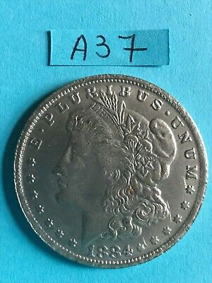 Etats-Unis : 1 dollar 1884 ( attention COPIE - COPY ) pas en argent