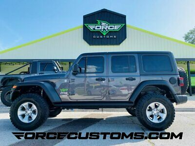 2018 Jeep Wrangler Sport S Granite Crystal Metallic Clearcoat Jeep Wrangler Unlimited with 24,574 Miles ava