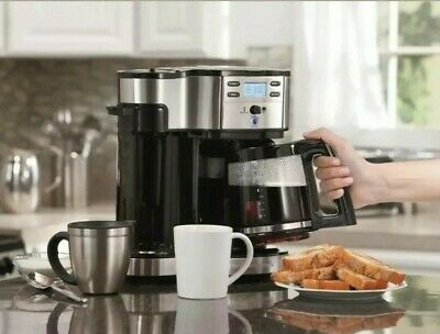Hamilton Beach 2-Way Stainless Steel Brewer~Model# 49980A~Free Shipping!!