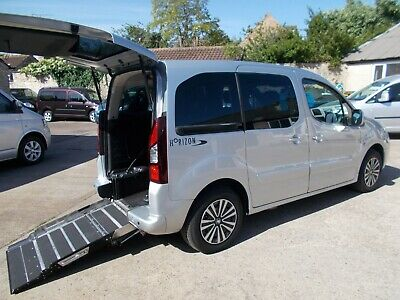 Wheelchair Accessible Wav Disabled Mobility 2014 Peugeot Partner Se Hdi Mpv
