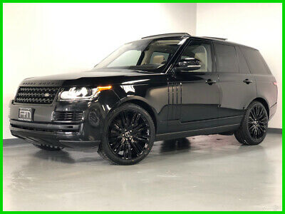 2017 Land Rover Range Rover HSE 2017 HSE Used 3L V6 24V Automatic AWD SUV Premium Moonroof
