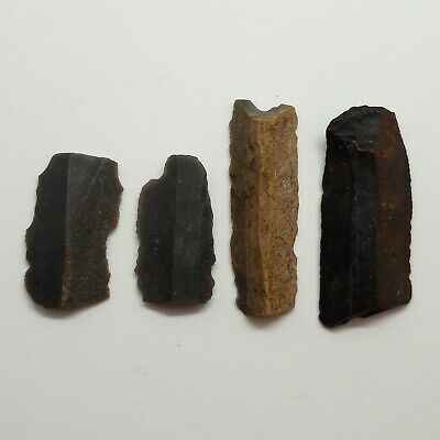 Stone  / Cutter /  Knife / Tool 4pc. Siberia Neolithic 5000-3000BC.