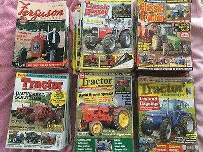 Tractor magazines -  over 140 back numbers from 2010