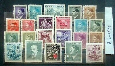 German Ww2,Third Reich, Stamps, Occupied Bohemia And Moravia, 1939/45.