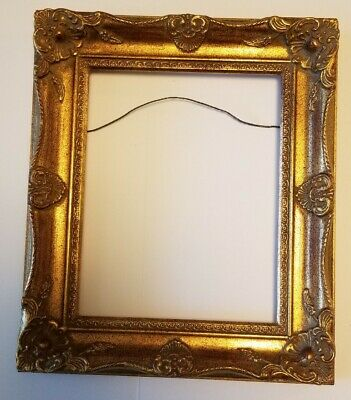 Vintage Gold Ornate Framed Wall Picture Frame Hollywood Regency TWT Moulding Co